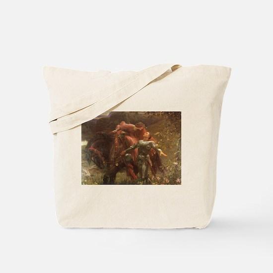 La belle dame sans merci: illustration Tote Bag