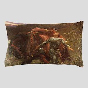 La belle dame sans merci: illustration Pillow Case