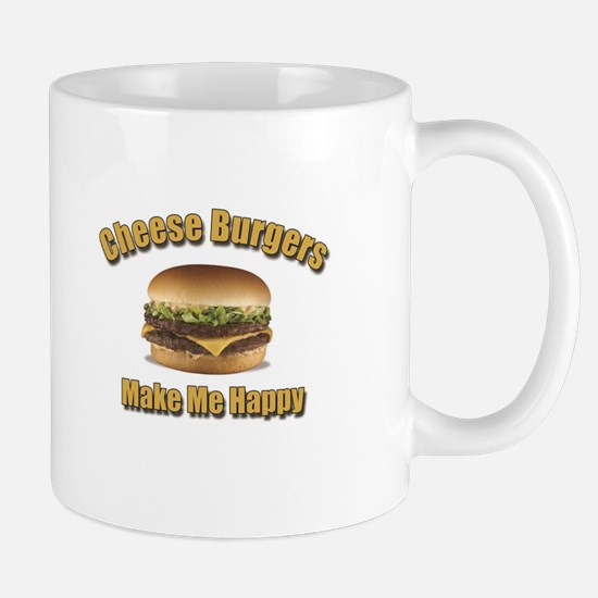 Cheese Burgers Design 1b Mugs