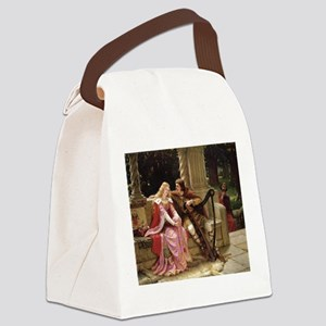 Tristan and Iseult by Leighton Canvas Lunch Bag