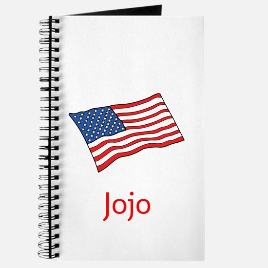 Old Glory Personalized July 4 Pop Journal