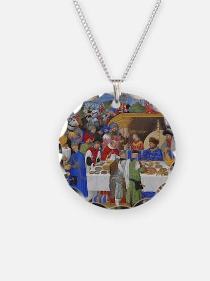 Medieval illustration Necklace