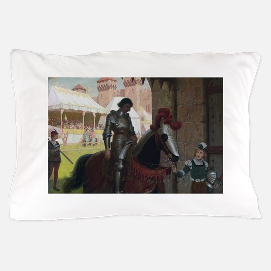 Vanquished Knight Pillow Case