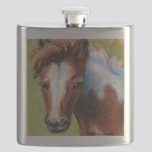 Chincoteague Pony Foal Flask