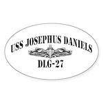 USS JOSEPHUS DANIELS Sticker (Oval)