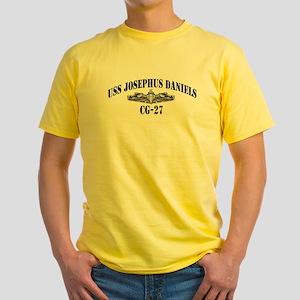 USS JOSEPHUS DANIELS Yellow T-Shirt