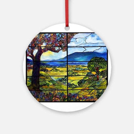 Tiffany Minnie Proctor Window Ornament (round)