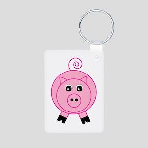 Cute Pink Pig Keychains