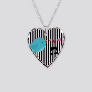 Singing Blue Bird Necklace