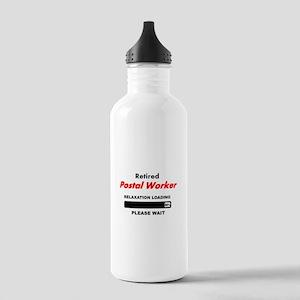 LOADING RET POSTAL WORKER Water Bottle