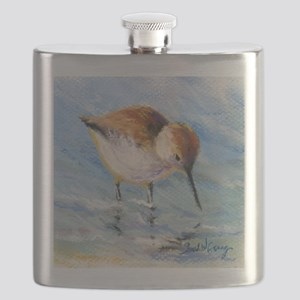 Wading Sandpiper Flask