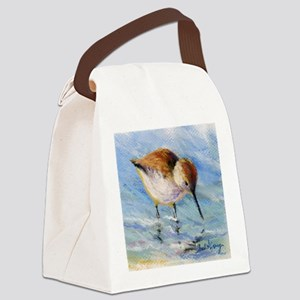 Wading Sandpiper Canvas Lunch Bag