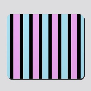 Funky Stripes Mousepad