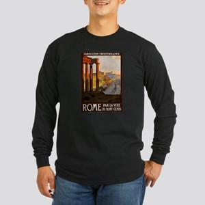 vintage alcohol Long Sleeve Dark T-Shirt
