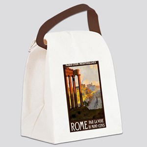 vintage alcohol Canvas Lunch Bag