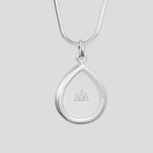 Three Pine Trees Necklaces