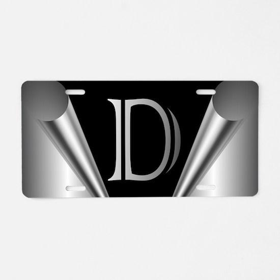 Steel Peel D Aluminum License Plate