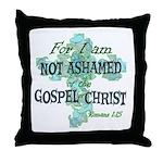 Romans 1:15 Throw Pillow