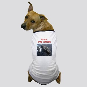 uss carl vinson Dog T-Shirt