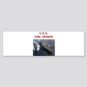 uss carl vinson Bumper Sticker