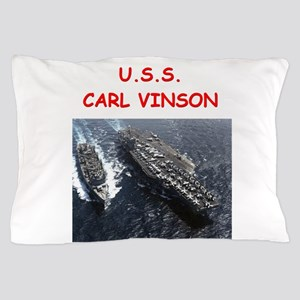 uss carl vinson Pillow Case