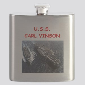 uss carl vinson Flask