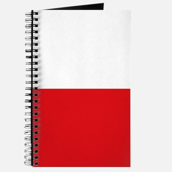 Polish flag Journal