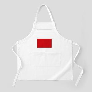Polish flag Apron