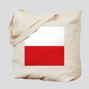 Polish flag Tote Bag