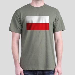 Polish flag Dark T-Shirt