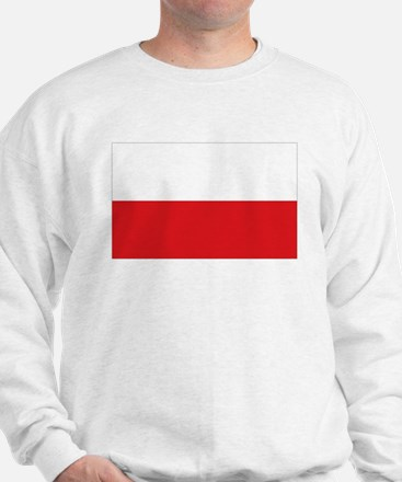 Polish flag Sweatshirt