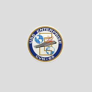 Uss Enterprise Cvn-65 Mini Button