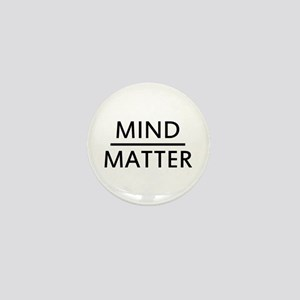 Mind Matter Mini Button
