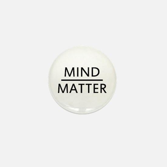 Mind Matter Mini Button