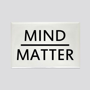 Mind Matter Rectangle Magnet