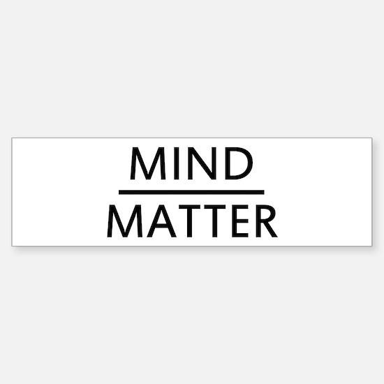Mind Matter Sticker (Bumper)