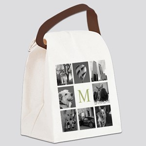 Your Photos Here - Photo Block Canvas Lunch Bag