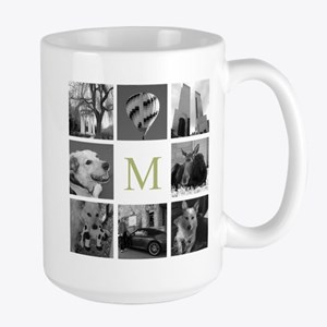 Your Photos Here - Photo Block Mugs