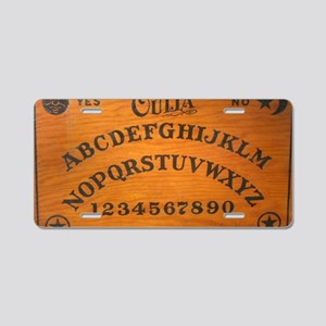 Oujia Board Aluminum License Plate