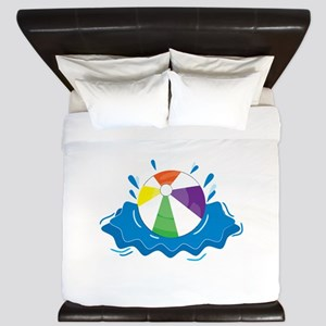 Beach Ball King Duvet
