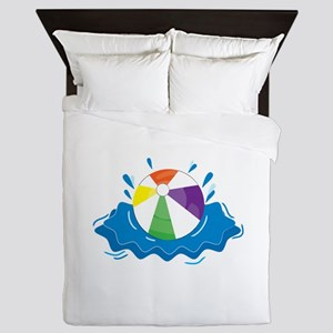 Beach Ball Queen Duvet