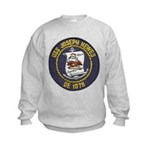 USS JOSEPH HEWES Kids Sweatshirt