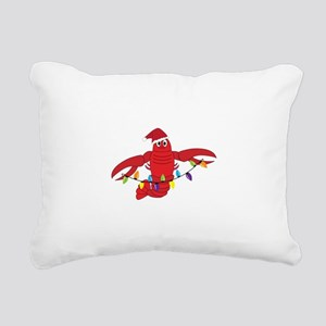 Sandy Claws Rectangular Canvas Pillow