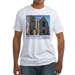 Building Slogan Fitted T-Shirt