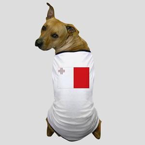 Maltese flag Dog T-Shirt