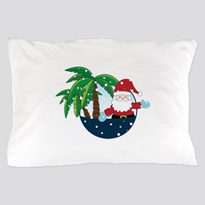 Christmas In Paradise Pillow Case