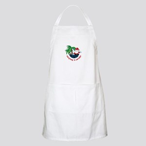 Chirstmas in paradise Apron
