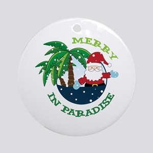 IN PARADISE Ornament (Round)