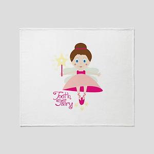 Tooth Fairy Throw Blanket