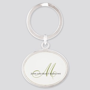 Names and Monogrammed Initial Keychains